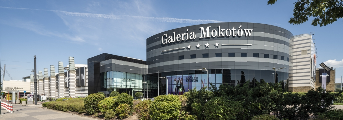 Picture of Galeria Mokotow main inside plaza