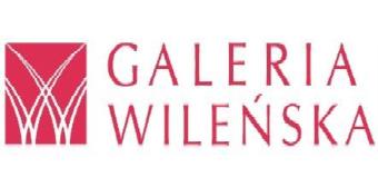 Logo of Galeria Wilenska shopping centre in Warsaw