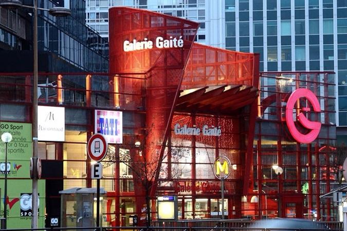 picture of galerie gaité's main entrance