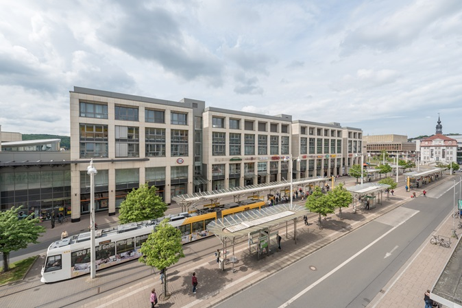 picture of gare arcaden and the tramway
