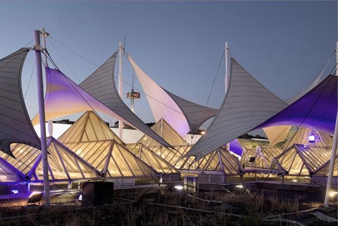 picture of  la vaguada's sails
