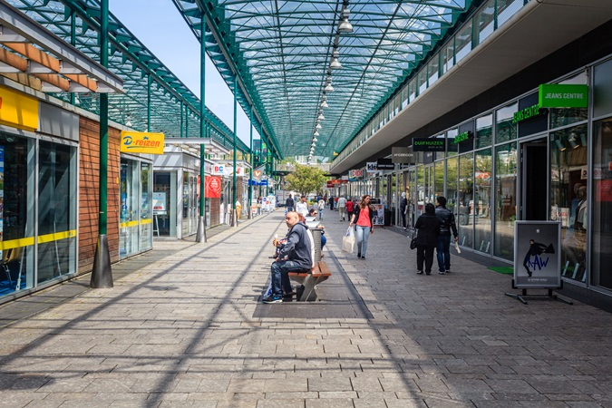 picture of outside resting areas in Leidsenhage