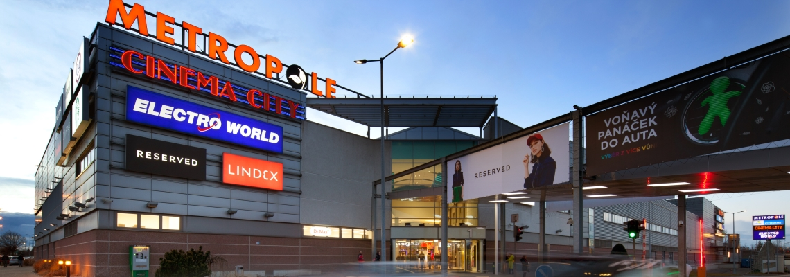 Picture of 3 pays shopping centre with a natural background