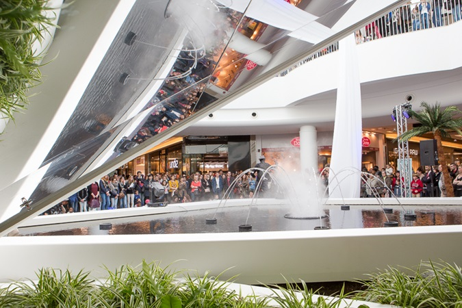 picture of an event at Rennes Alma shopping centre