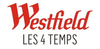 Logo of Les 4 Temps shopping centre in Paris