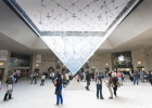 Picture of the Inverted Pyramide in Carrousel du Louvre shopping centre