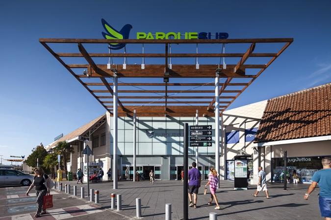picture of parquesur main entrance