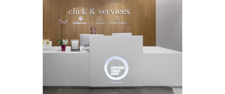 Click & Services: informační centrum se 4*servisem