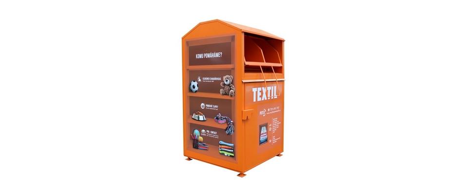 Sběr použitého textilu