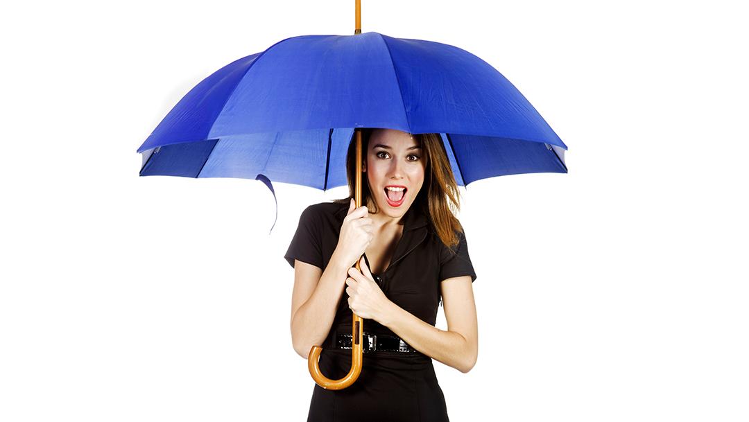 Regenschirmverleih
