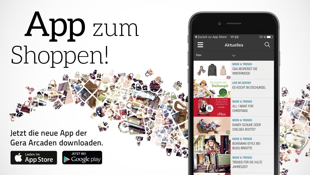App zum Shoppen