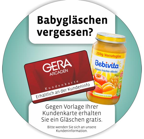 Gratis Baby-Glas