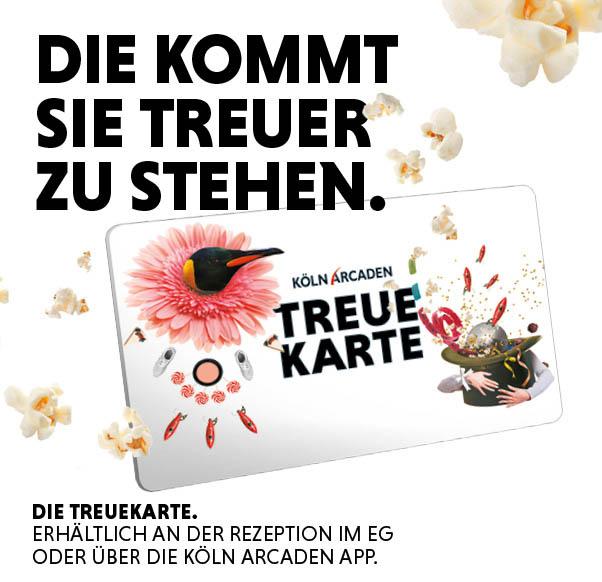 Köln Arcaden Treuekarte