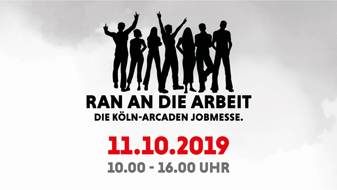 Ran an die Arbeit: Die Köln Arcaden Jobmesse!
