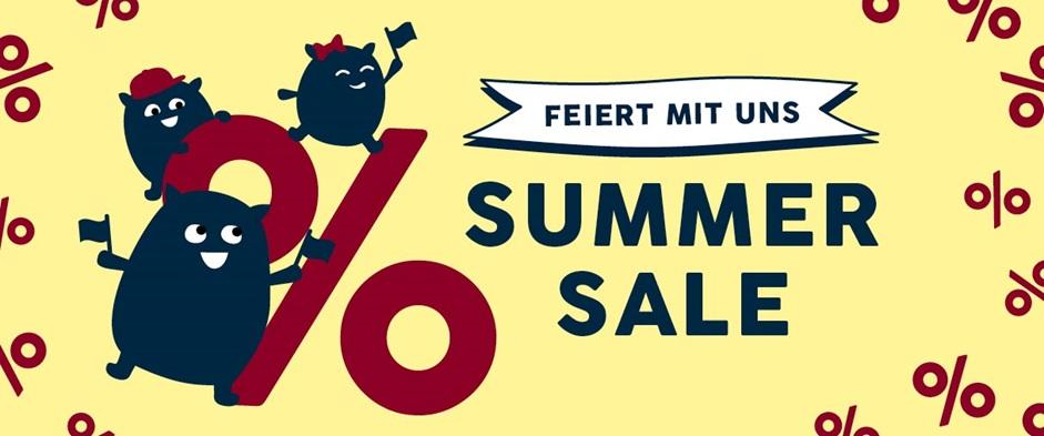 Feiert mit uns den Summer Sale!