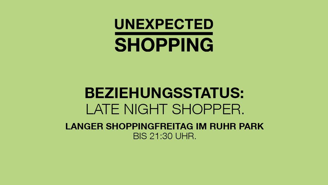 Freitags länger shoppen
