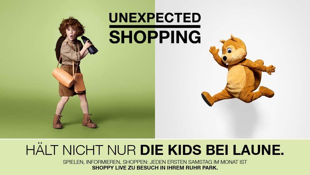 Shoppy im Ruhr Park