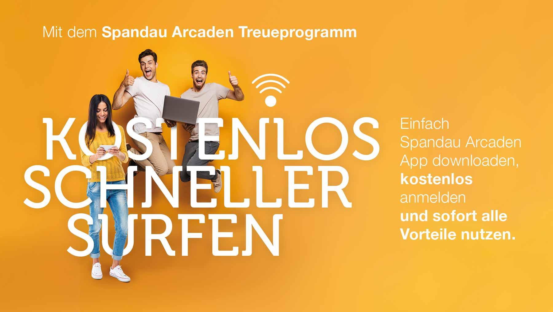 Highspeed-Wifi für Treueprogramm-Mitglieder