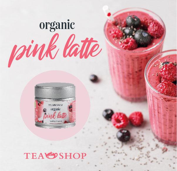 ¡Nuevo Organic Pink Latte!
