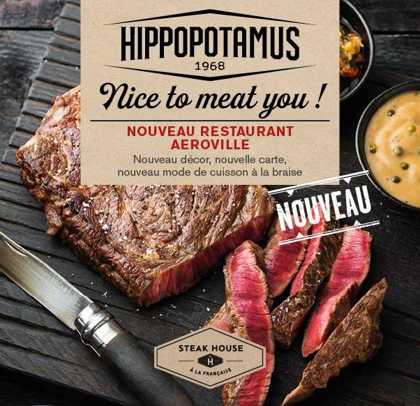 HIPPOPOTAMUS : LE NOUVEAU CONCEPT DE STEAKHOUSE À LA FRANÇAISE
