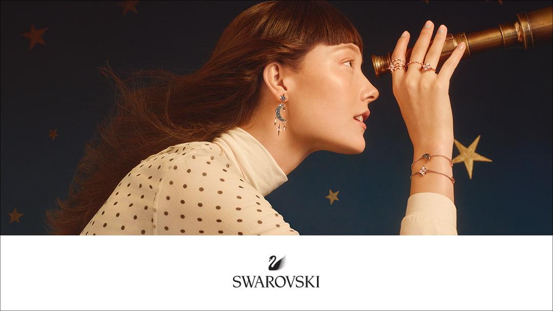 SWAROVSKI MOON & STAR