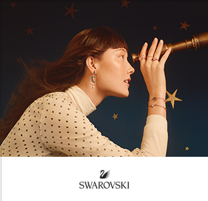 SWAROVSKI MOON & STAR