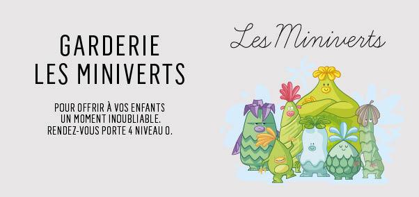 VENEZ DÉCOUVRIR LA GARDERIE DES MINIVERTS