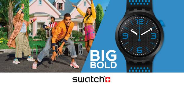 Nouvelle collection Big Bold chez Swatch