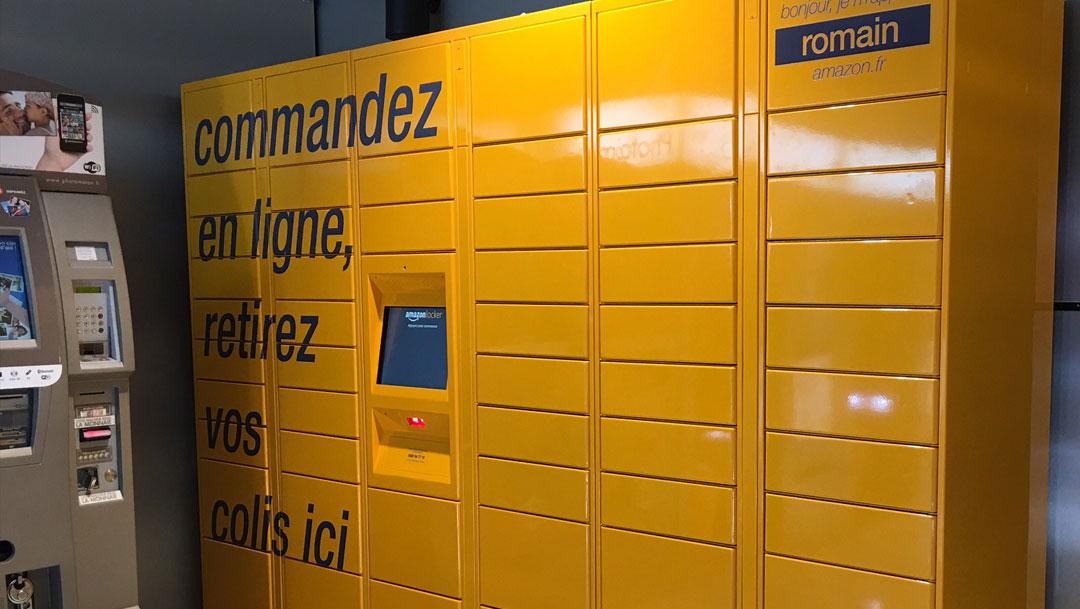 Testez le service Amazon Lockers
