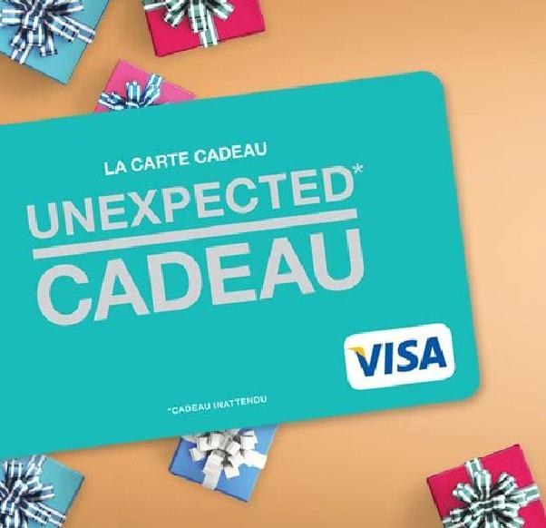 "CARTE CADEAU ""UNEXPECTED CADEAU"""