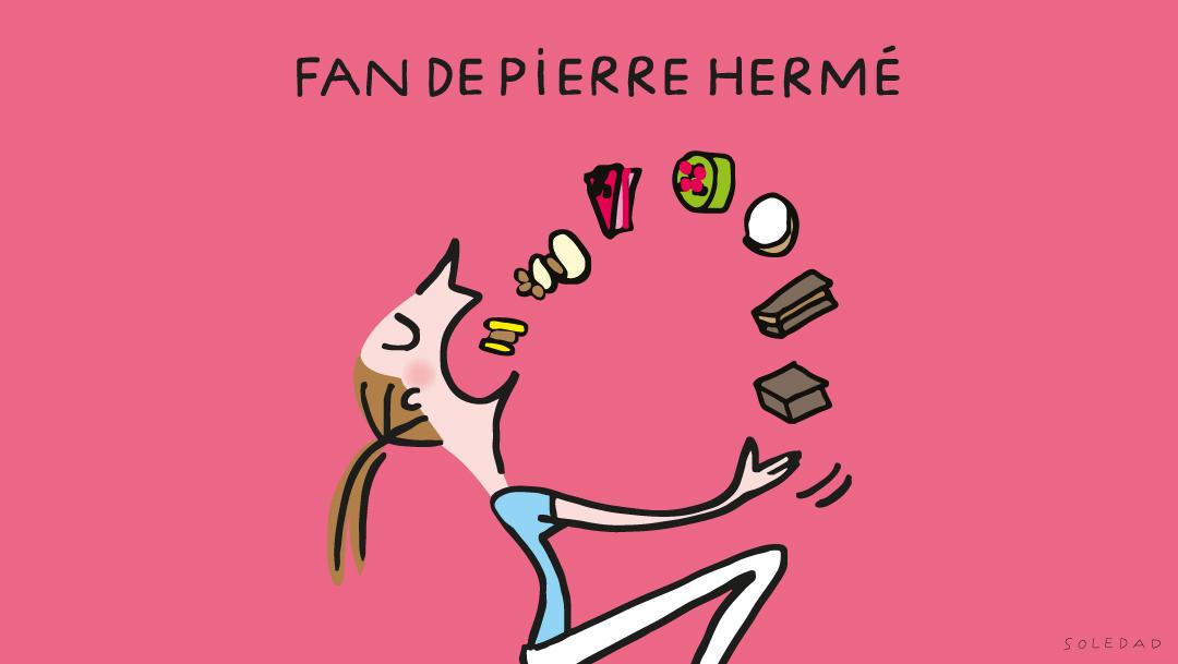 Fan de Pierre HERME ?