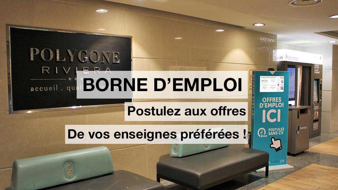 BORNE D'EMPLOI