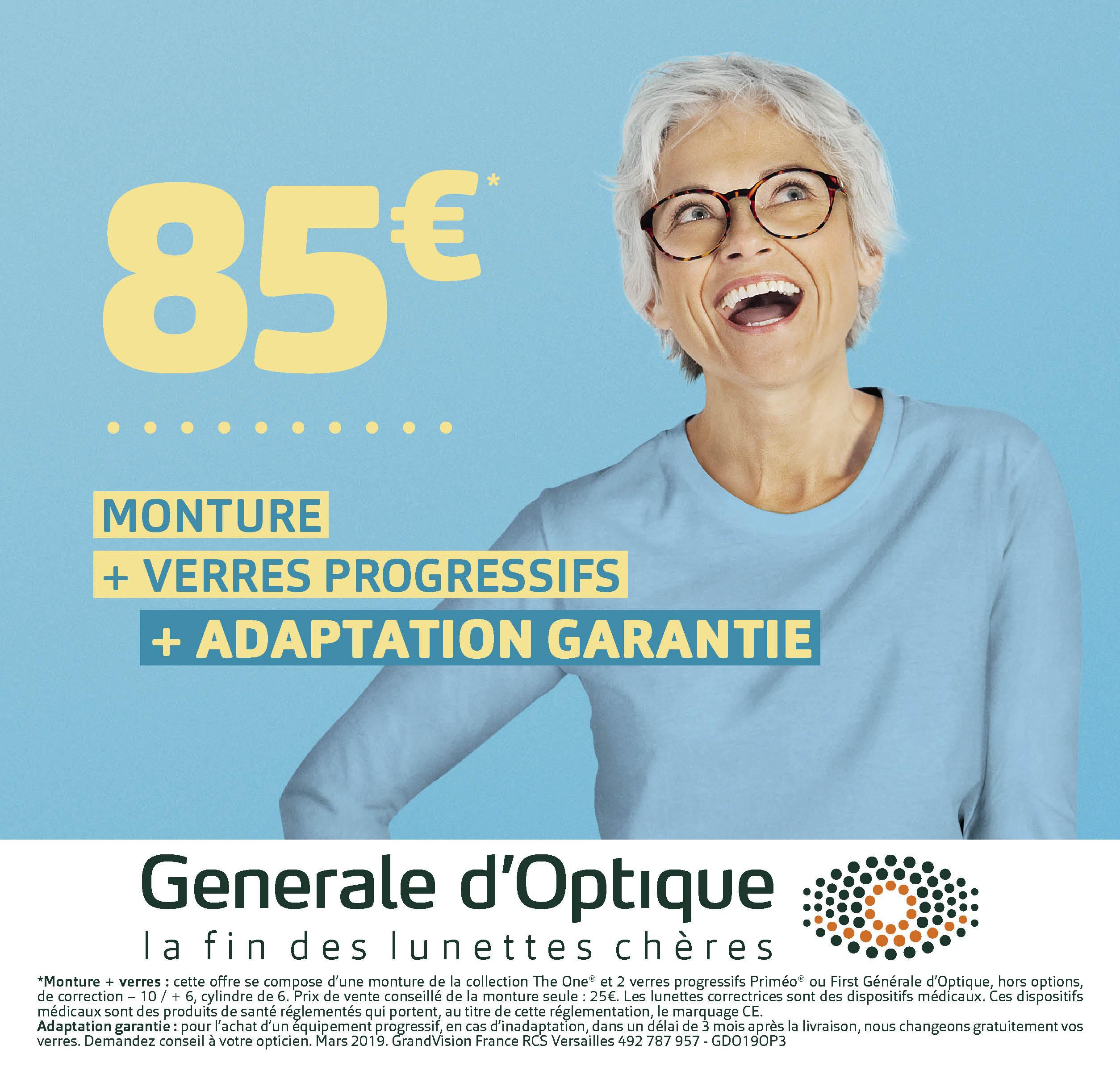 MIEUX VOIR AVEC LA GENERALE D'OPTIQUE