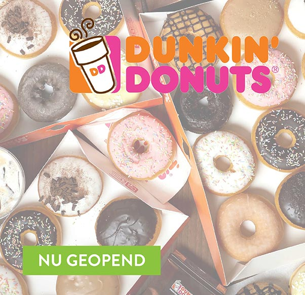Opening Dunkin' Donuts