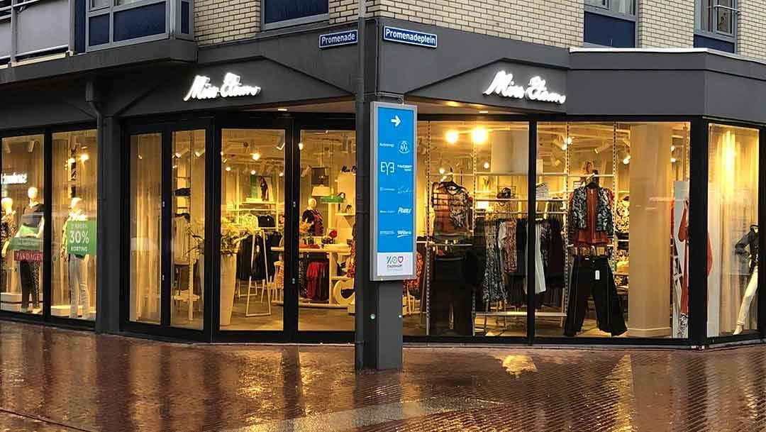 Miss Etam opent vernieuwde winkel aan de Promenade