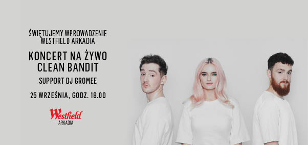 Clean Bandit w Arkadii