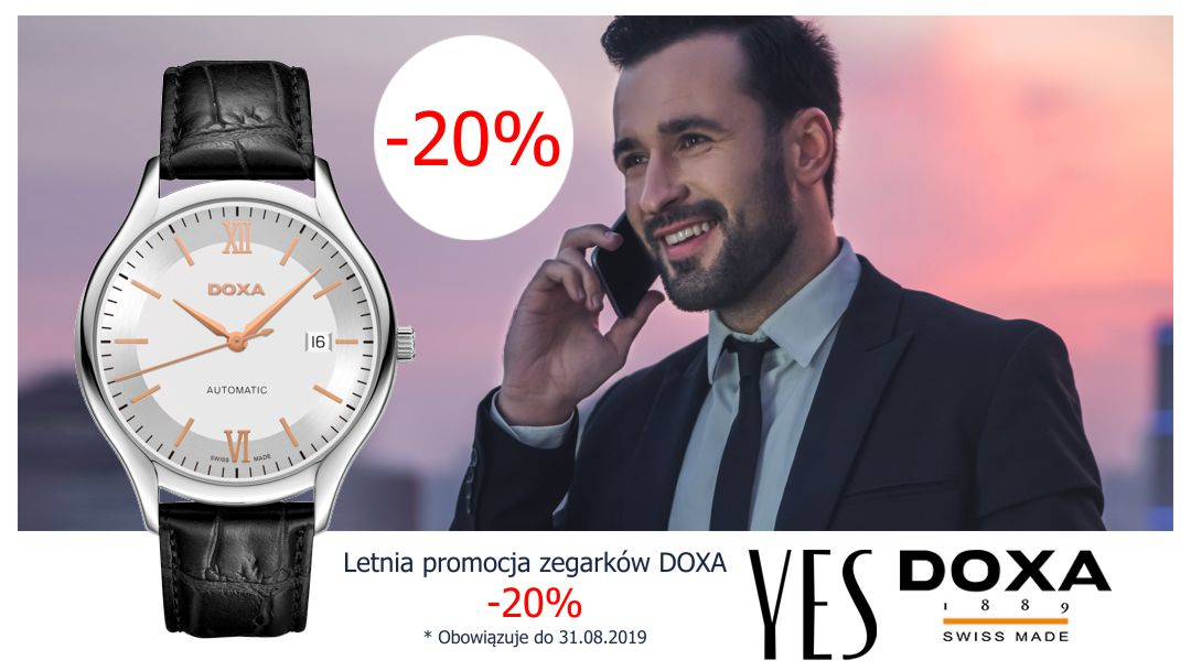 zegarek doxa -20%