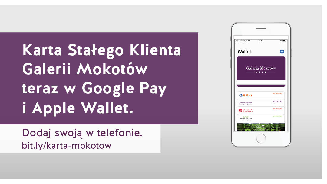 Karta Stałego Klienta w Google Pay i Apple Wallet