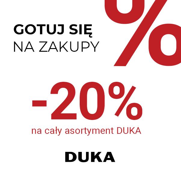 -20% na cały asortyment
