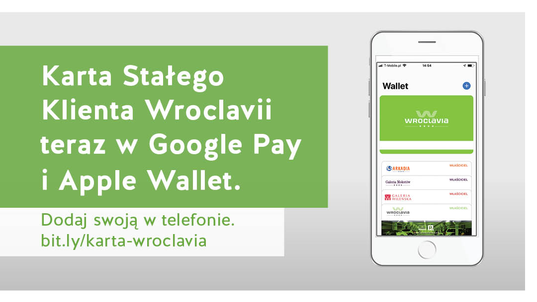 Karta Stałego Klienta w aplikacjach Apple Wallet i Google Pay