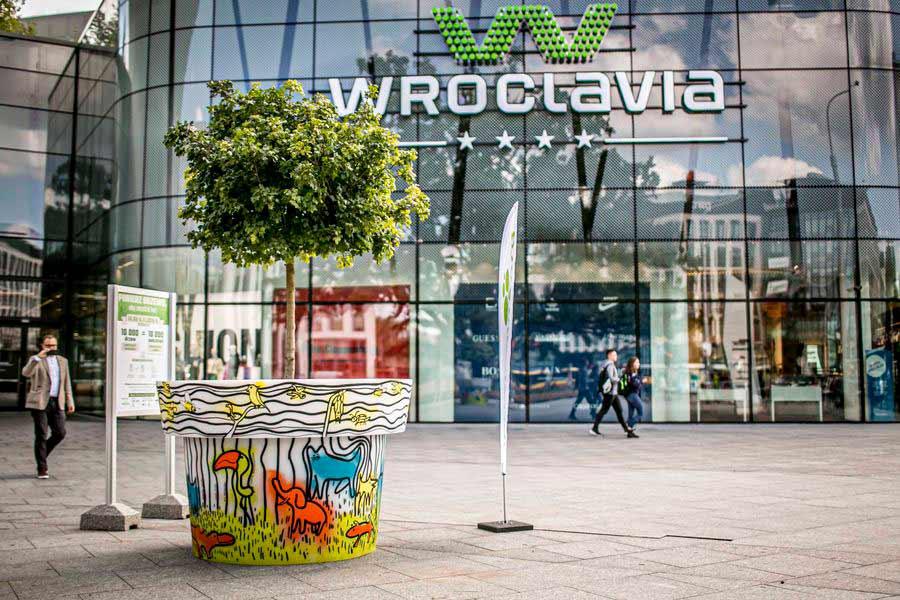 Wirtualne Drzewa dla Wrocławia