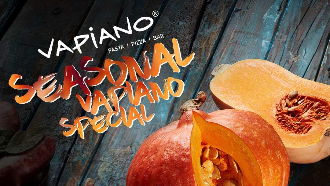 Oferta sezonowa w Vapiano