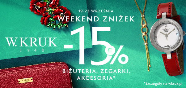 Weekend Zniżek W.KRUK