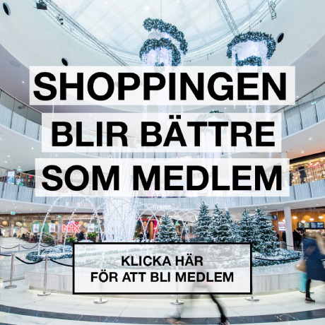 Bli medlem i Mall of Scandinavia