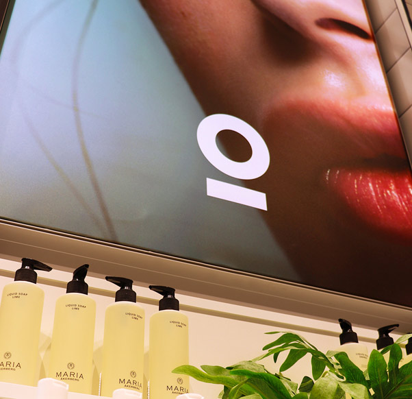 Nu har Lyko dubblat sin butiksyta i Beauty Mall!