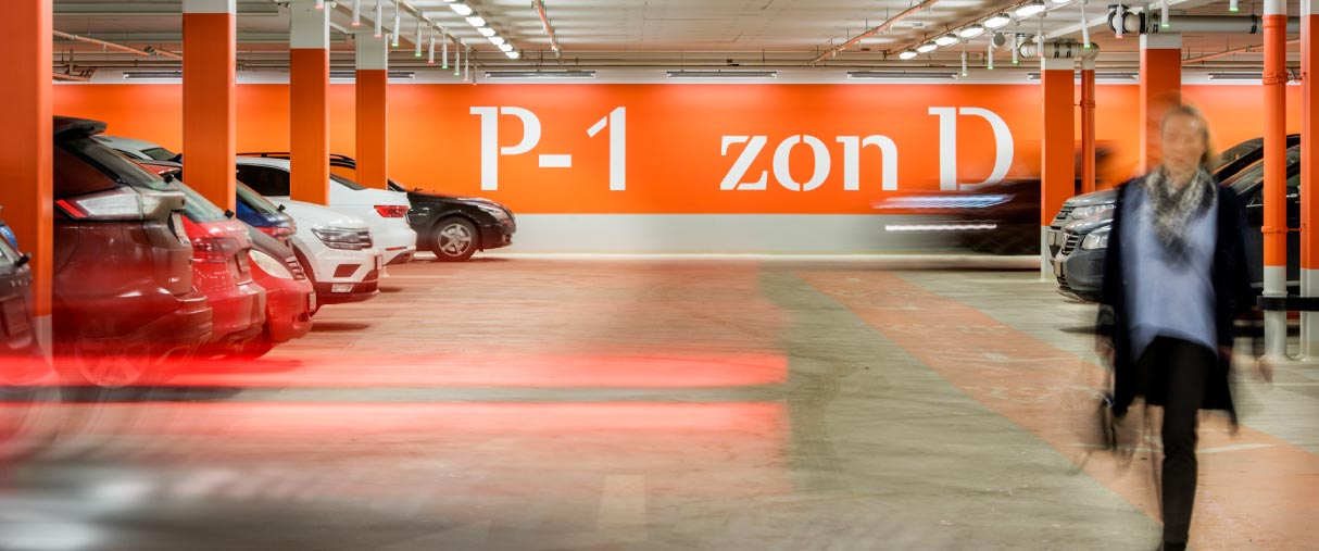 Parkering i Mall of Scandinavia