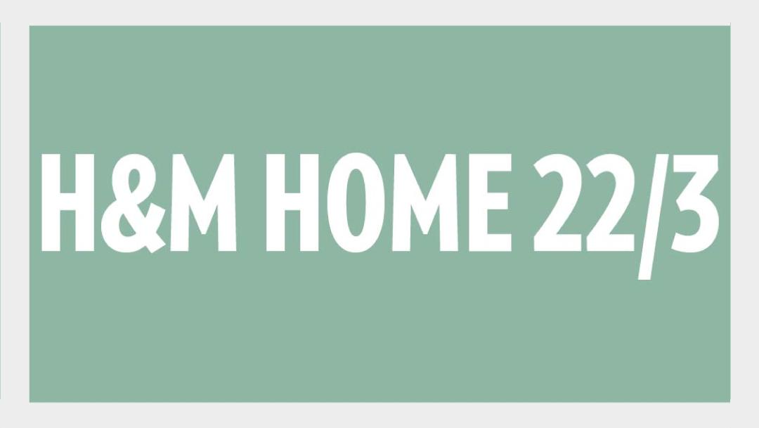 H&M Home öppnar och större utbud av mode och beauty