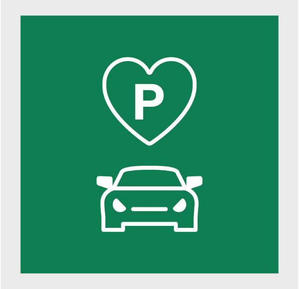 Gratis parkering 3h/dag