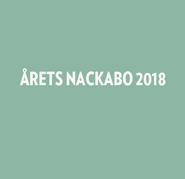 Årets Nackabo 2018