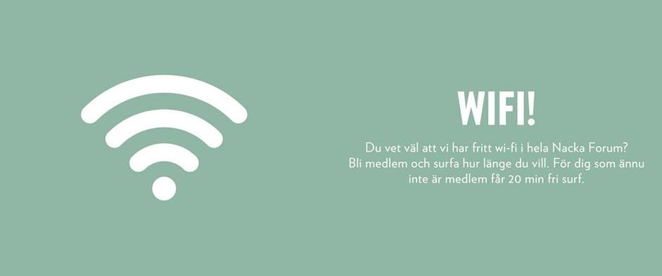Wifi Nacka